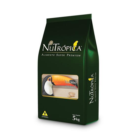 Ração Nutrópica Natural Para Tucano - 5kg