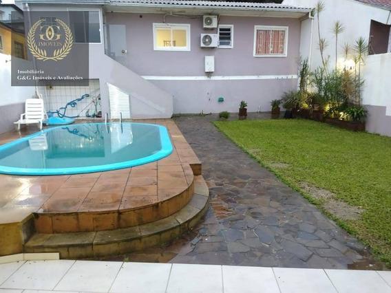 Casa Com 3 Dormitórios À Venda, 110 M² Por R$ 315.000 - Centro - Viamão/rs - Ca0567
