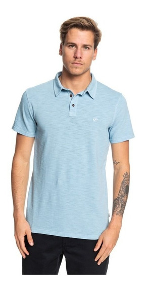 Polo Quiksilver Hombre Azul Everyday Cruise Eqykt03784bfm0