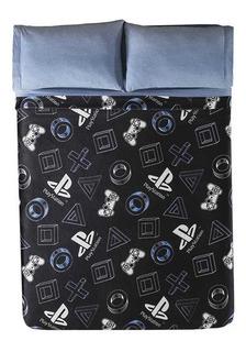 Cobertor Ligero Ps4 Playstation Ind + Almohada Plus Vianney