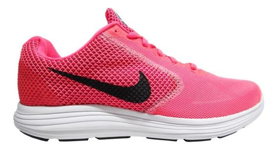 Tenis Nike Wmns Nike Revolution 3 Mod 819303 602 Envió Grati