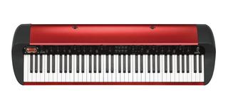 Piano Digital Electrico Valvular Korg Sv1 73 Teclas Red