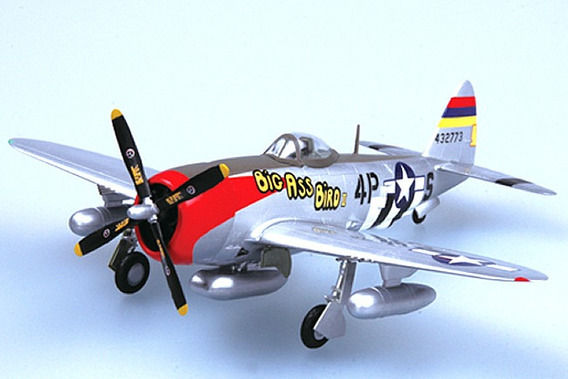 Miniatura Avião P-47 Thunderbolt 531fs 1/72 Easy Model