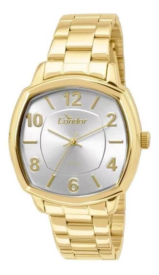 Relógio Condor Feminino Dourado Co2035kor/4k
