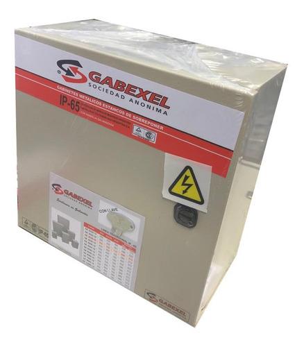 Gabinete Metalico Estanco Ip65 Tradicional 300x300x160mm