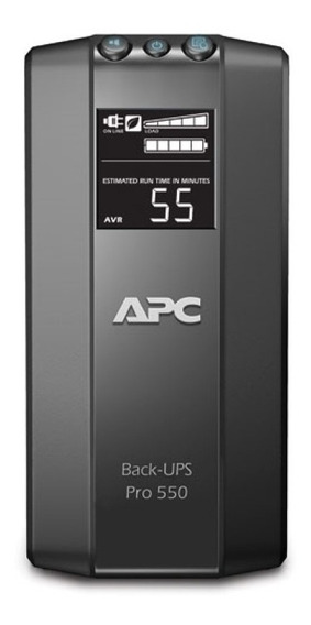 Ups Apc Back-ups Pro 550va 230 Estabilizador Tension