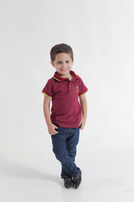 Kit Vestido E Camisa Polo Tal Mãe Tal Filho
