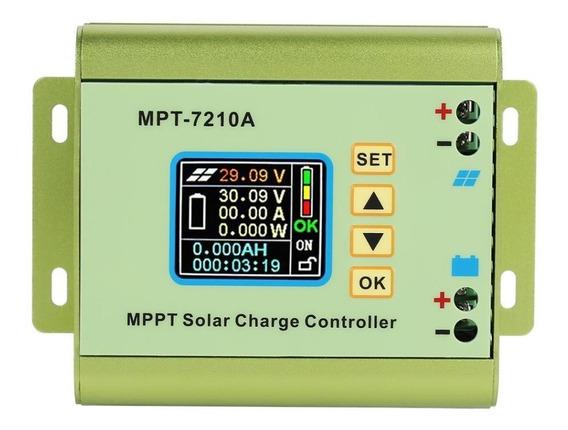 Controlador De Carga Solar Mppt 10a P/bateria Delitio 12/60v