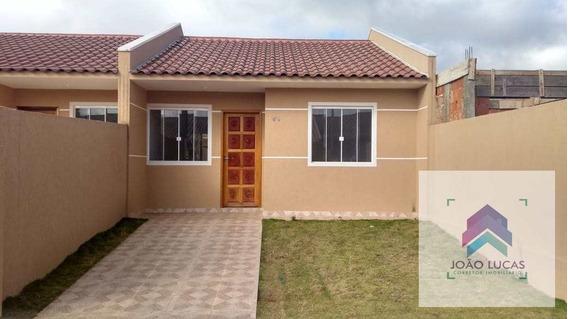 Casa De Condomínio Com 2 Dorms, Nações, Fazenda Rio Grande - R$ 160 Mil, Cod: 10 - V10