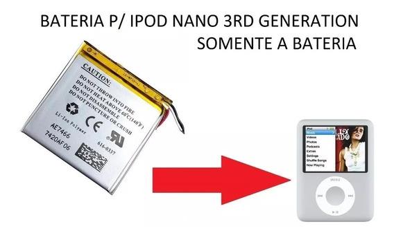 Bateria Apple iPod Nano Terceira 3rd Generation (4gb/8gb)
