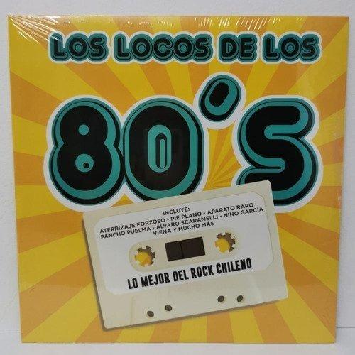 Varios Artistas Los Locos De Los 80s Vinilo Nuevo Musicoviny