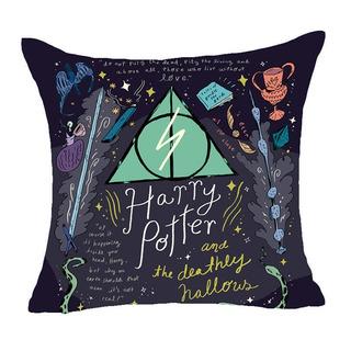 Harry Potter - Fundas Para Cojín Con Diseños De La Saga