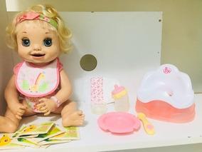 Baby Alive Hora Do Troninho Completa Semi Nova Rara