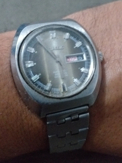 Relógio Clássic Automático 25 Rubis Incabloc Funciona Perfei