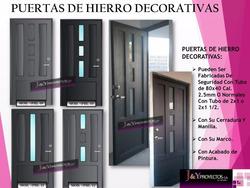 Puertas De Hierro Decorativas Fabrica