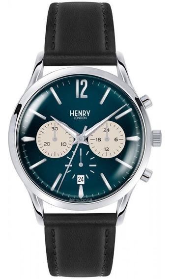Henry London Knightsbridge Azul Acero Diego Vez