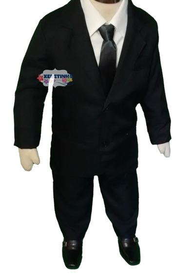 Terno Roupa Infantil Conjunto Completo Oxford Paletó Camisa