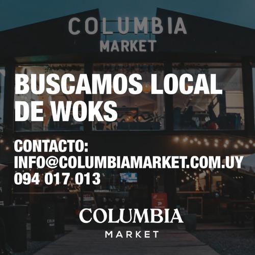 Local De Woks Columbia Market - Ciudad De La Costa