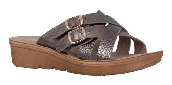 Sandalias Para Mujer Frattini / 9z6364-1313
