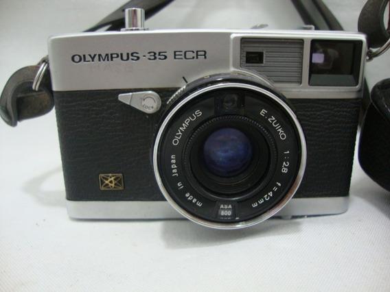 Antiga Camera Olympus 35 Ecr