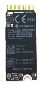 Placa Wifi Macbook A1425 Bcm94331csax