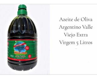 Azeite De Oliva Argentino Original 0,01% Acidez 5l