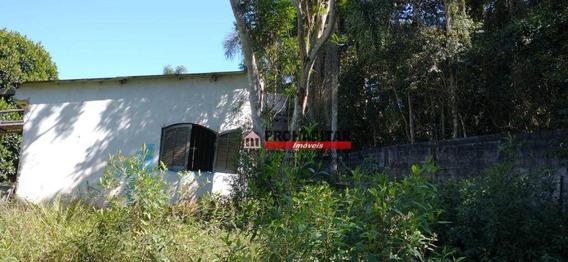 Chácara Com 1 Dormitório À Venda, 1215 M² Por R$ 220.000,00 - Jardim Varginha - São Paulo/sp - Ch0164