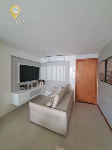 Imagem 1 de 13 de Lindo Apartamento 3 Quartos Com Suíte Em Itapuã - Ap0481