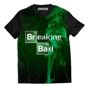 Camisa Camiseta Breaking Bad Heisenberg Walter Logo Total