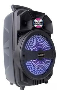 Parlante Portátil Recargable Bluetooth Blackpoint S39 8 Led