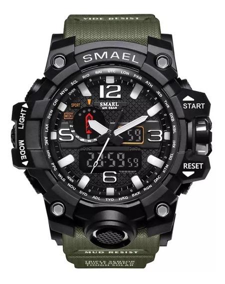 Relógio Tático/militar Smael 1545