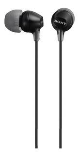 Fone de ouvido Sony EX Series MDR-EX15LP preto