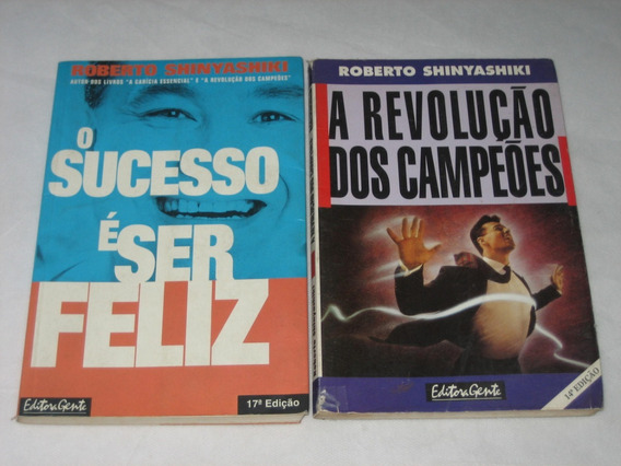 Motivação/sucesso - Roberto Shinyashiki - Lote Com 2 Livros