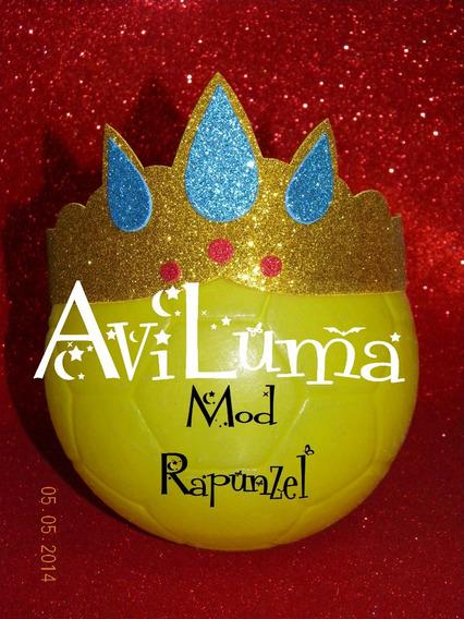 Souvenir Corona Tiara Vincha Princesa Rapunzel Aviluma
