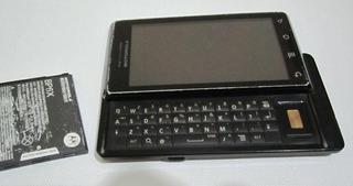 Motorola Milestone A853 Funciona Sin Tapa Trasera...detalles