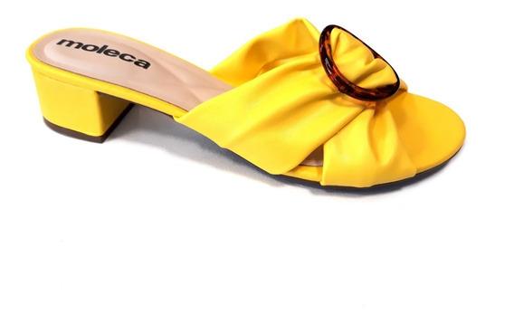 Zapato Mujer Moleca Taco 4cm Verano 2019