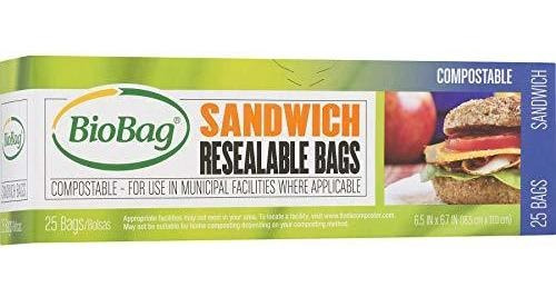 Compostable Bolsas De Sándwich Resellables Duraderas
