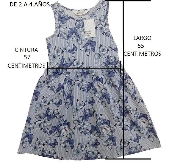 Vestidos De Niñas H&m De 2 A 4 Años.