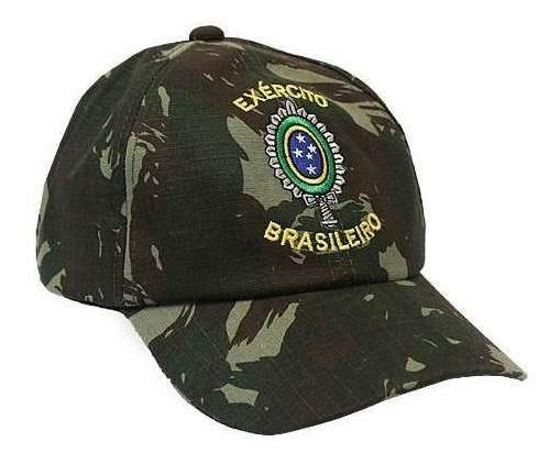 Boné Militar Bordado Brasão Exército Brasileiro - Atack