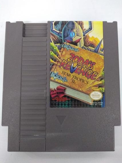 Cartucho Nes Nintendo Zodas Revenge Star Tropics 2 Fita Game