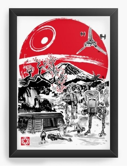 Quadro Decorativo Geekz Star Wars Filme