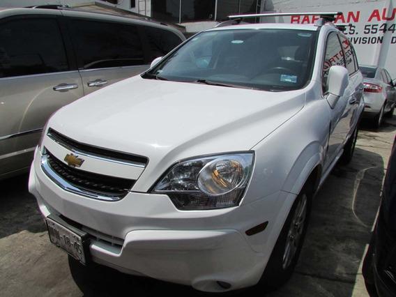 Chevrolet Captiva 2011 Equipada Blanca
