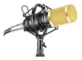 Set Micrófono Estudio Profesional Radiodifusión Y Grabación