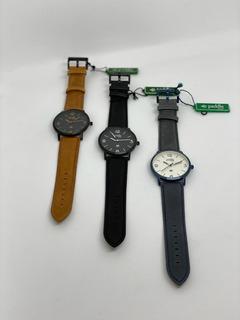 Reloj Paddle De Cuero