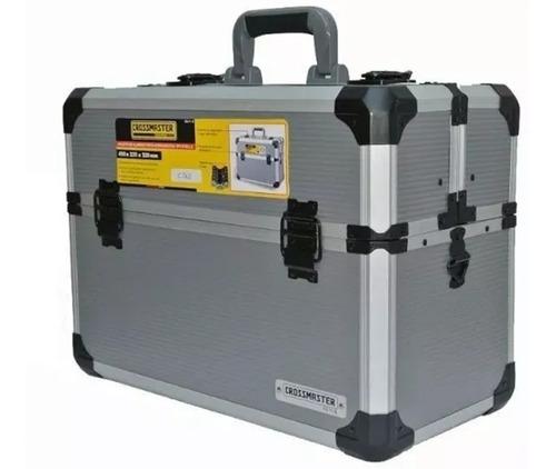 Valija Caja Herramientas Aluminio Electricistas Crossmaster