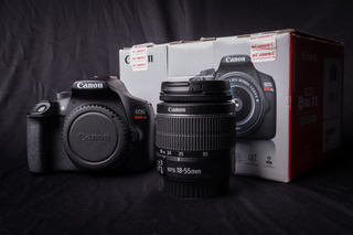 Cámara Profesional Canon Rebel T6 Con Memoria Sd Incluida