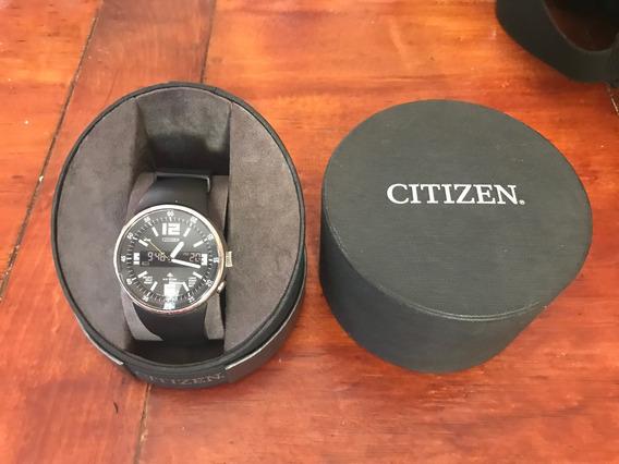 Reloj Citizen Promaster Con Caja Análogo Y Digital