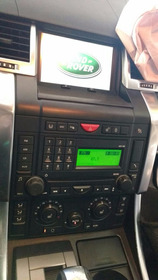 Central Multimidia Range Rover Sport 2009 - Trevo