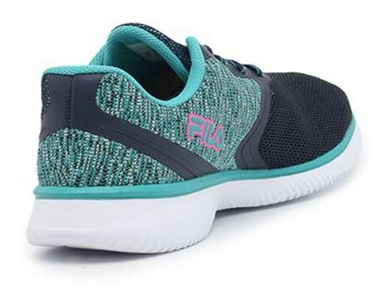 Tenis Feminino Fila Azul 777248 Esporte Promoção