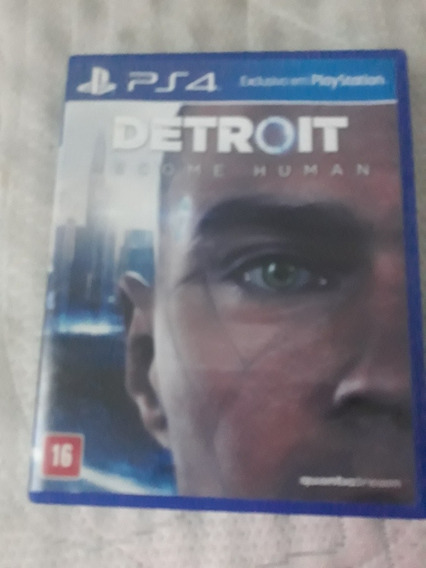 Jogo De Ps4: Detroit Become Human